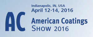 AC American Coating Show 2016, Indianapolis, IN